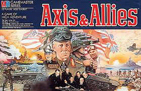 Vintage Axis and Allies board game