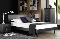 Beautiful, modern bed frame made by MOBICAN - $300 or Best Offer
