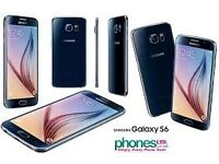 Sim Free Samsung Galaxy S6 Black 32GB With Warranty