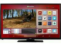 Hitachi 50 inch led smart tv with built in WiFi £320