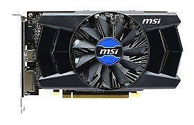 MSI AMD Radeon R7 250 OC Graphics Card 2GB DVI HDMI VGA
