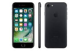 Apple iphone 7 black 128gb with box, immaculate condition