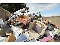 RUBBISH WASTE CLEARANCES JUNK TIP RUNS REMOVALS SKIP garden house office man and van manchester