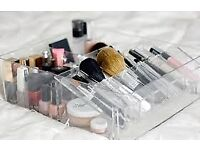Ikea Godmorgen Make-up Jewellery etc Clear Acrylic Storage - lots available £4 each