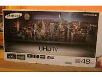 Samsung 48 inch uhd 4k boxed tv £550 can deliver