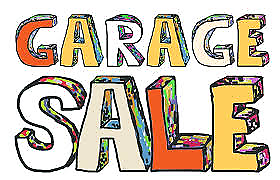 Garage Sale - Household items, furniture and media and electronic
