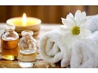 Professional massage service by male therapist.