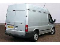 Transit van owner/driver seeks part-time work