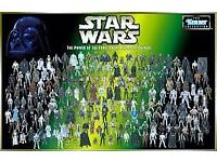 STAR WARS TOYS COMICS ANYTHING WANTED power of the force mainly :)