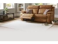 2 Journey 2 Seater Reclining Sofas - Like New (From DFS)