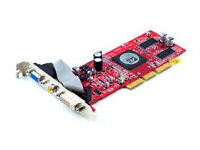 Radeon 9250 128MB 64BIT graphics card