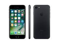 iPhone 7 32gb Unlocked Matte Black 3 Months Warranty