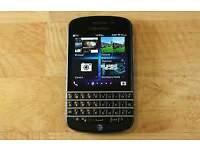 BLACKBERRY Q10 SIM FREE UNLOCKED BLACK