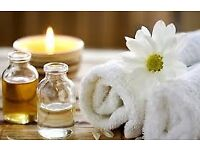 Experienced and fully insured massage therapist available