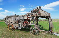 Looking for a threshing machine