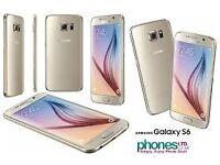 Sim Free Samsung Galaxy S6 Gold 32GB With Warranty
