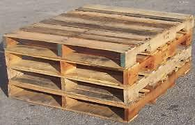 48x42  4 way Skids-Pallets Can be Delivered. $3, $3,yes $3 Kitchener / Waterloo Kitchener Area image 1