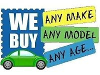 WE WANT YOUR CARS VANS MINIBUSES TIPPERS 4X4 DIGGERS DUMPERS FORKLIFT NO MOT MOT FAILURE SCRAP DVLA