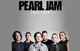 2 Pearl Jam Tickets 25th Anniversary Tour - Ottawa-May 8th 2016