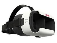 ANTVR Loop VR 100 Degree Wide Angle Head-mounted 3D Glasses for 5.0-6.0 inch Smartphones - White