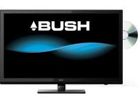 "tv Bush 24"" smart tv with dvd black ,boxed"