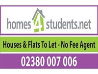 Student Properties To Rent for Next Academic year (July 2017 - September 2018) in Southampton