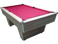 Genuine American Slate bed Pool table