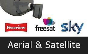 Satellite & Digital Aerial installation London & surrounding