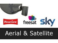 Satellite & Digital Aerial installation London & surrounding