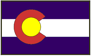 New! 5x8 STRONG 5 X 8 HEAVY DUTY COLORADO Nylon Flag
