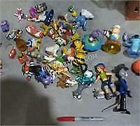 Lot of 40 Collectible Toy Figures