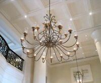 Tiffany Ceilings, California Knockdown, Coffered Ceilings