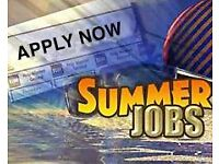 Full time or part time summer work available -– ideal flexible job!