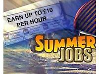 Ideal summer job for students, school leavers, retirement or second income!