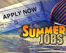 Local summer full time or part time work available -– ideal flexible job!