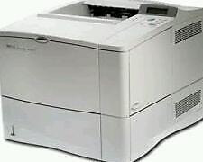 Hp lazer jet 4100 printer
