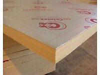 Celotex Sheets - 100 x 1200 x 2400mm GA4000 - 3 sheets as new