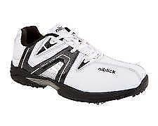 Niblick Men's Golf shoes size 8 1/2 brand new black and white. Royal Park Charles Sturt Area Preview
