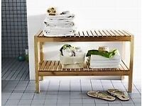 IKEA Molger Bench / Shoe rack/ Shelves / low table
