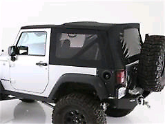 Jeep wrangler replacement soft top