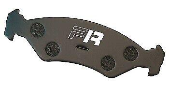 Black Diamond Predator Rear Brake Pads for Citroen Saxo (S) VTR 1.6 (96 > 03)
