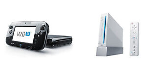 I'm looking for Wii and Wii U games
