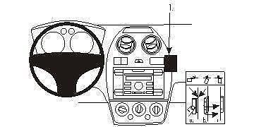 handyhalter ford konsolen halter ebay. Black Bedroom Furniture Sets. Home Design Ideas