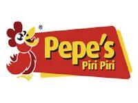 Restaurant Supervisor, Staff and Cashier needed for Pepe's Piri Piri Cambridge