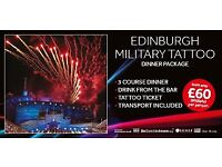 Edinburgh Military Tattoo Dinner Package from only £60 (tickets included)
