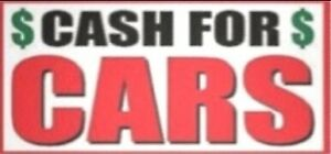 CASH for CARS all scrap cars trucks and SUVs