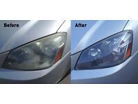 Headlight Restoration/Polishing in London