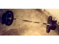 Oylmpic weights and Olympic ez bar