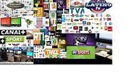Installation Des chaine Tv  internationaux a 139$