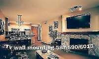 PROFESSIONAL TELEVISION WALL MOUNTING AND SET-UP